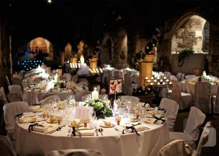 Versatile, unique wedding spaces at Crypt in Ely Place