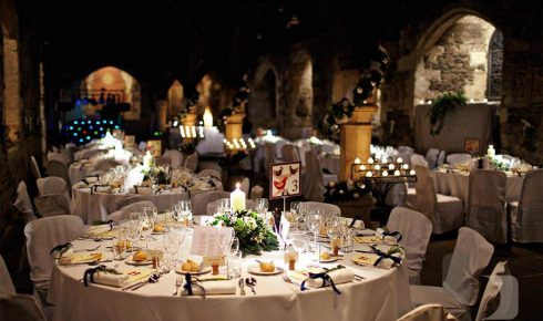 Crypt in Ely Place Wedding Reception Venue
