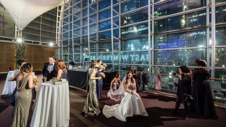 East Wintergarden Wedding Venue London