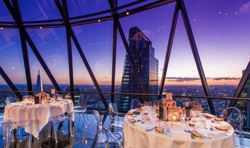 The Gherkin London Wedding Reception Venue