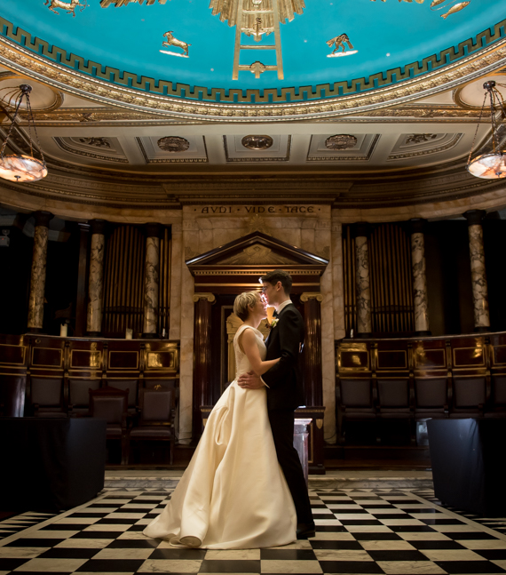 Luxury Hotel Weddings at Andaz London Liverpool Street