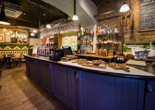 Old Toms Bar at The Lamb Tavern