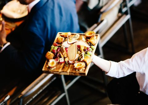 St Bart's Brewery Wedding Catering London