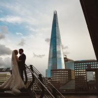 The-Oyster-Shed-Wedding-Venue-London-Bridge-Riverside-Shard-Couple