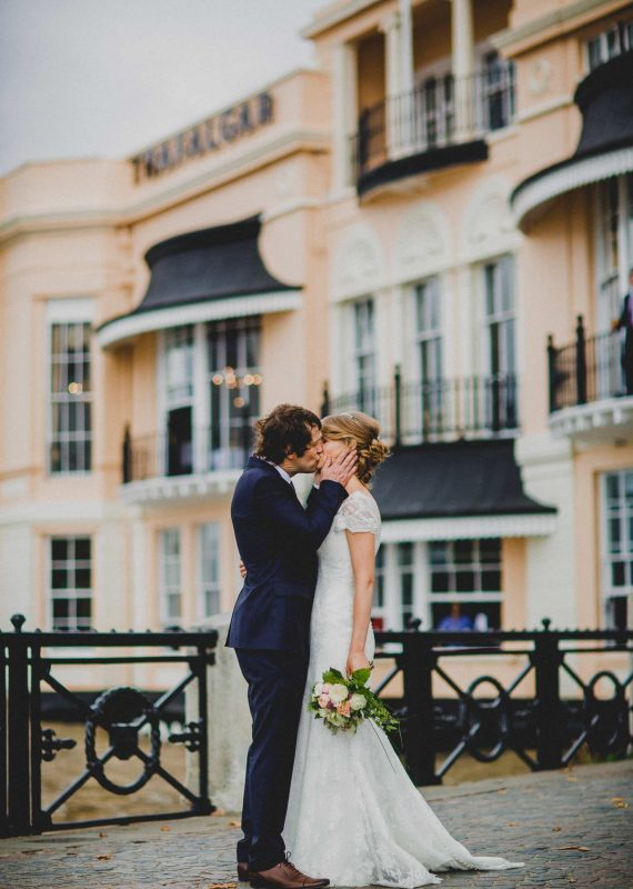 Waterfront Weddings at The Trafalgar Tavern