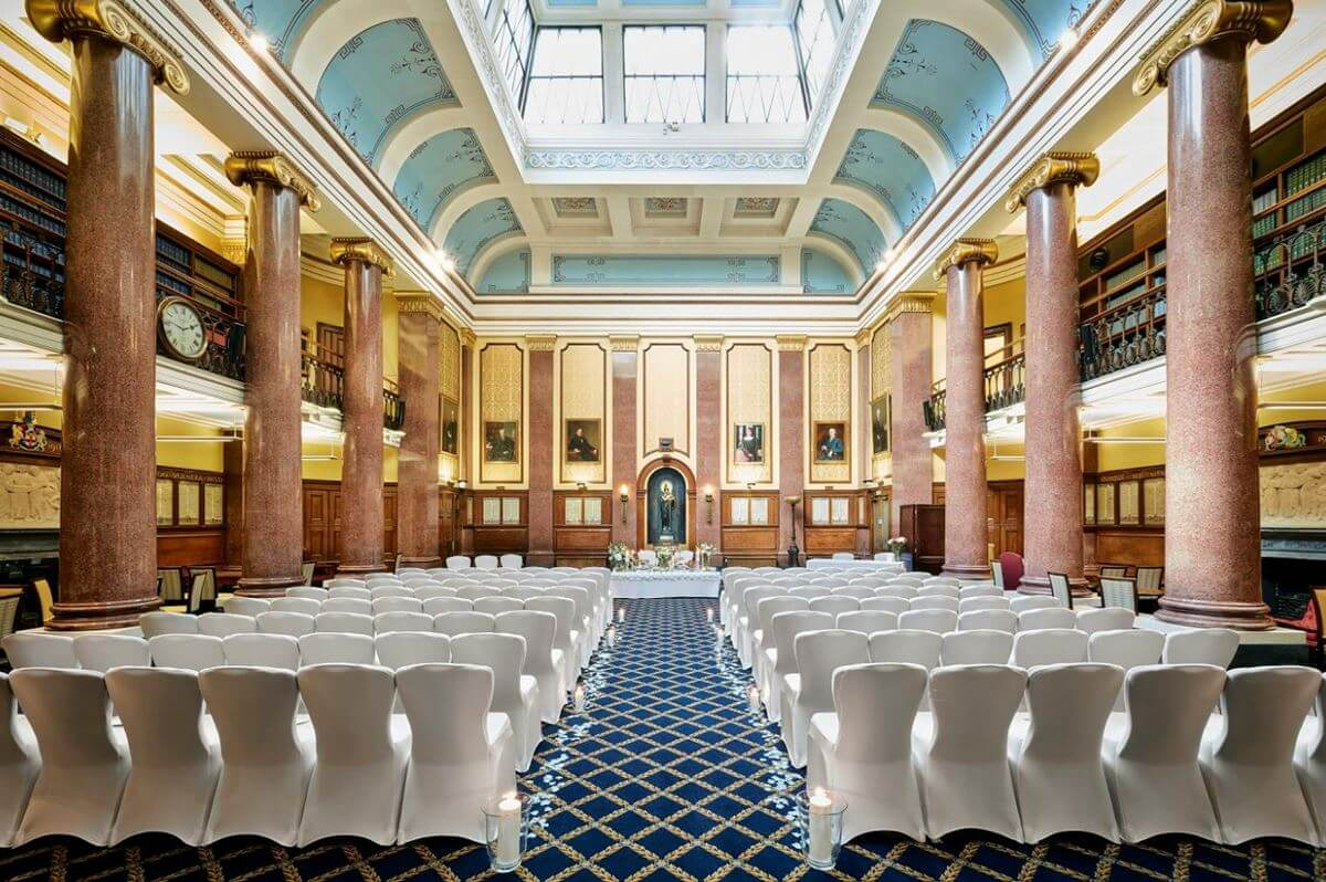 113 Chancery Lane Wedding Venue London