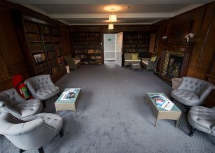 The Library at Winchester House