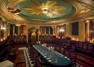 Masonic Temple at Andaz London Liverpool Street