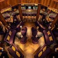L'oscar-London-wedding-venue-Holborn-ceremony-the-Baptist-aerial