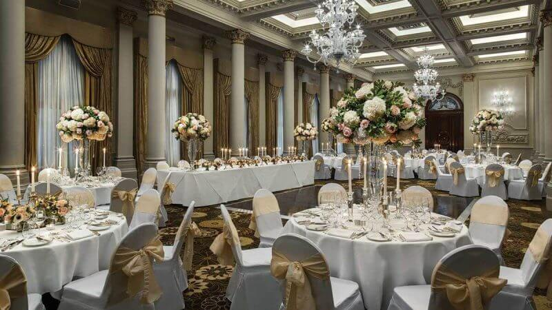 The Langham hotel wedding venues london mayfair